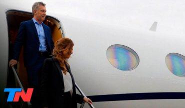 El expresidente Mauricio Macri viajó a Francia junto a su familia