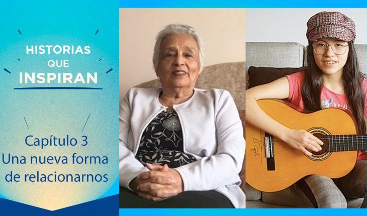 Gladys, Sofía y Luis, tres generaciones que se han adaptado a las nuevas dinámicas