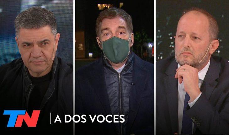 Inseguridad en el AMBA: Jorge Macri, Diego Santilli y Martín Insaurralde en A DOS VOCES