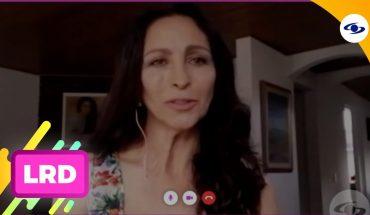 La Red: Natalia Giraldo cuenta cómo es pasar cuarentena alejada de su familia- Caracol Televisión