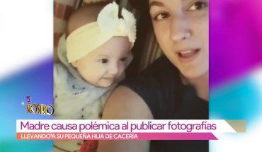 Madre causa polémica por llevar a su hija de cacería | Vivalavi