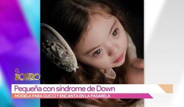Niña con síndrome de Down modela para famosa marca   Vivalavi