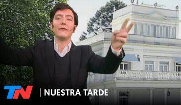"""TARICO FAKE NEWS: """"Axel, desde los jardines de Olivos""""   NUESTRA TARDE"""