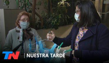 Tejedoras solidarias: en plena cuarentena, ellas siguen ayudando desde casa