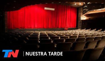 Vuelve el teatro por streaming: con actores en el escenario, pero sin público | NUESTRA TARDE