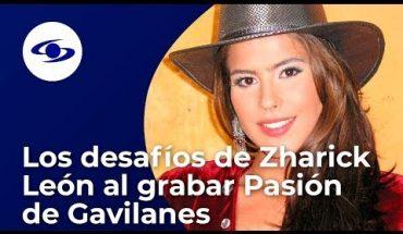 """Zharick León no podía """"cambiar ni una coma"""" a los libretos de Pasión de Gavilanes - Caracol TV"""