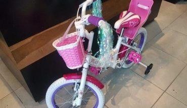 Viral: le robaron la bicicleta a una nena y pide que se la devuelvan
