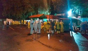 49 empleados intoxicados en fuga de amoniaco en procesadora de aguacate en Uruapan