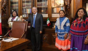 AMLO introduces indigenous women candidates to chair the Conapred