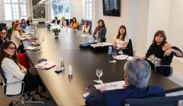 Alberto Fernandez met with entrepreneurs