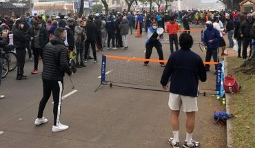 Athletes claim against Quinta de Olivos to let them retrain