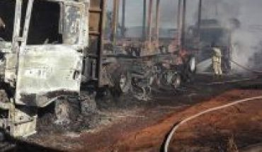 Burning of trucks in La Araucanía: MPs present project to increase sanctions when children are involved in attacks
