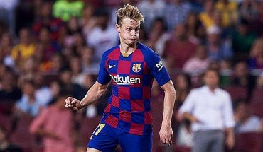 """Champions-Frenkie de Jong: """"I don't care who's favourite, we have confidence"""""""