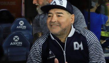 Diego Maradona gave coronavirus negative