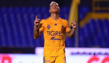 Eduardo Vargas scored in Tigres UANL's win over Puebla FC