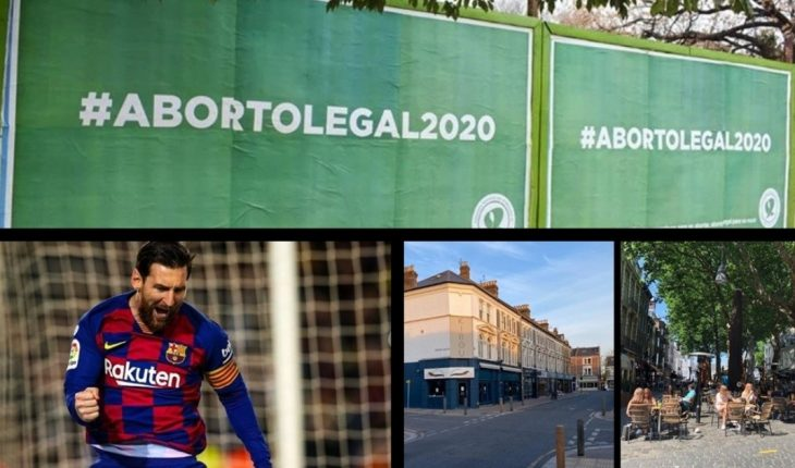 Emigrate in pandemic, International Women's Orgasm Day, August holidays, Messi seeks the pass to quarters in the Champions League and more...