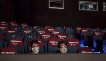 Empty seats and healthy distance, so was the reopening of CDMX cinemas
