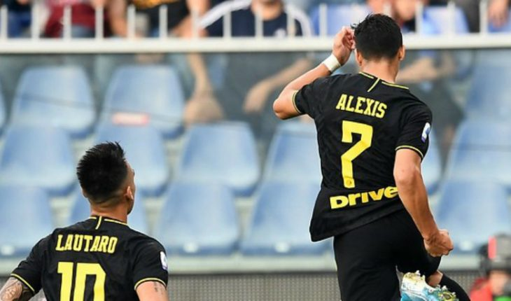It's official: Alexis lowered his salary and stayed at Inter for three seasons