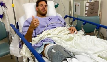 Juan Martin Del Potro was discharged and will begin with rehabilitation