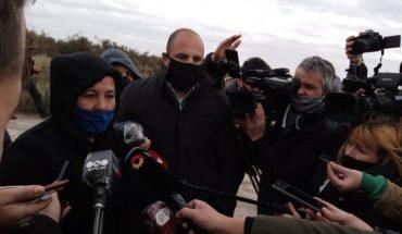 La madre de Facundo Astudillo Castro reconoció una zapatilla a 30 metros del cuerpo