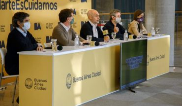 """Larreta referred to the march of the #17A: """"There is no party call"""""""