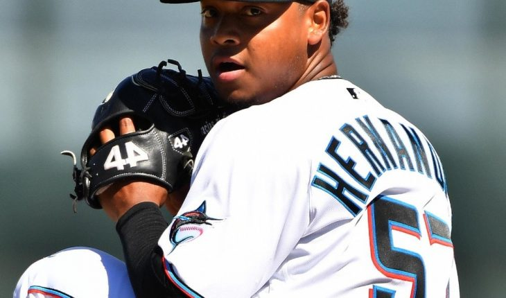 MLB: Marlins win game one with Hernandez jewel
