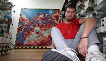 Meet Christian Goñi, the speedcuber and cube muralist Rubik's