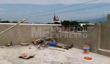 Painter dies electrocuted in his work, in Apatzingán