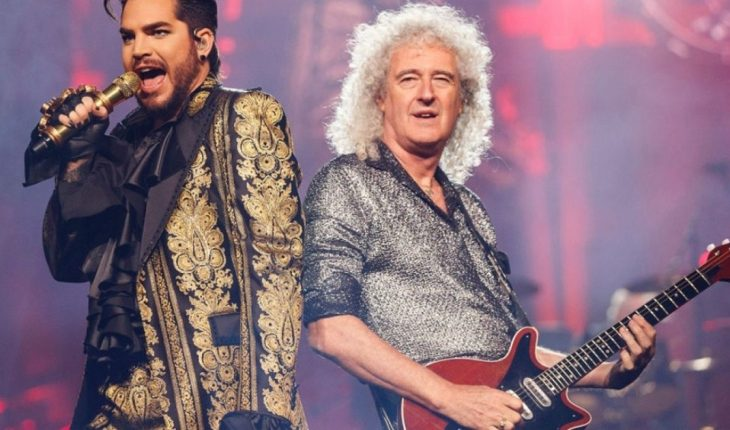 Queen will release a live album with Adam Lambert