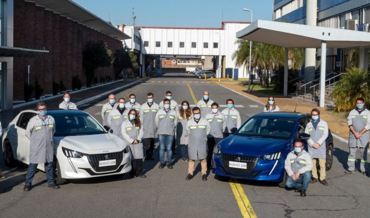 Ruge with Argentine accent: the Peugeot 208 started production El Palomar