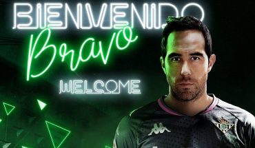 """""""See you very soon"""" Claudio Bravo responds to Real Betis after officialization of his transfer"""