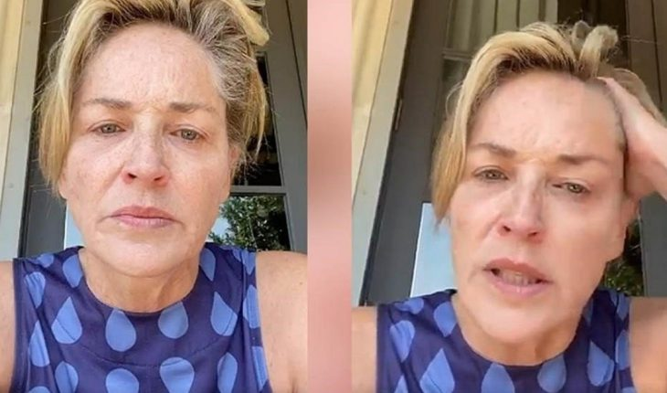 """Sharon Stone recounted that her sister has coronavirus: """"One of you who didn't wear a mask did this."""