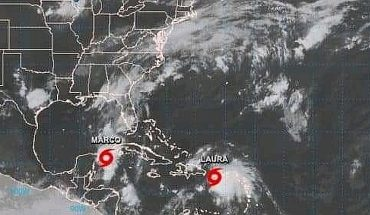 Storms Laura and Marco create potentially historic threat to US