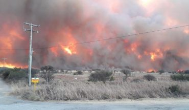 The fire that Cordoba suffers is one of the worst in recent years