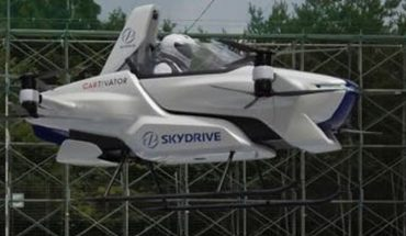 The flying car passed its first test in Japan