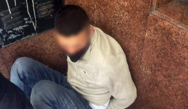 They arrested a thief after stealing from Recoleta and wearing an electronic anklet