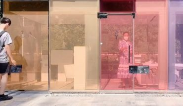 They create transparent public baths in Tokyo and are a success!