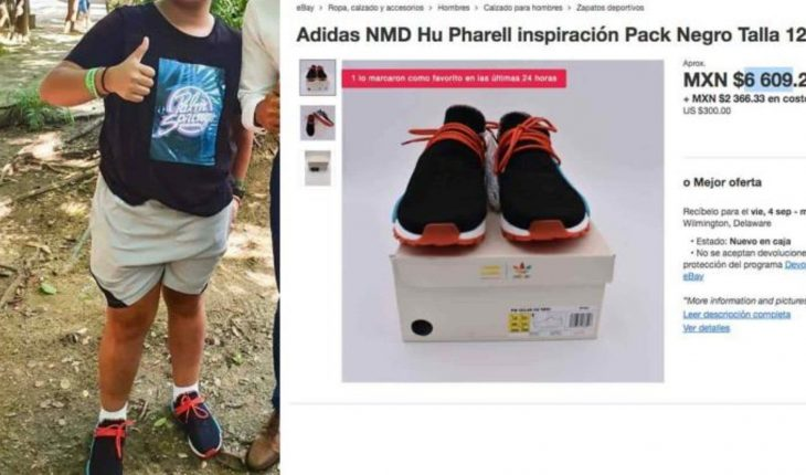 They criticize AMLO's son for his luxurious sneakers; Mom gets out of her twitter