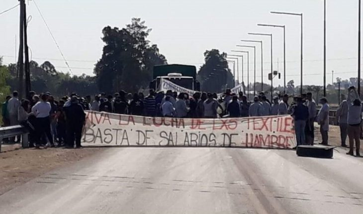 Two Vicentin workers were assaulted at a demonstration