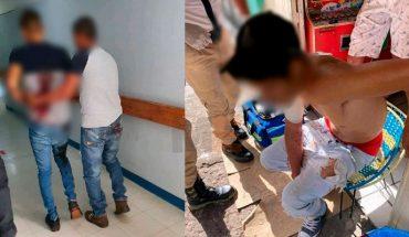 Dos jóvenes son baleados en la Valencia Primera Sección de Zamora, Michoacán