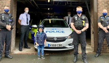 UK: A five-year-old boy saved his mom's life thanks to a toy