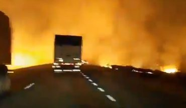 Video: fire coming from the islands of the Paraná Delta, uncontrolled