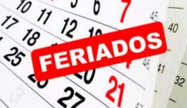 ¿Qué feriados se vienen en este octubre 2020?