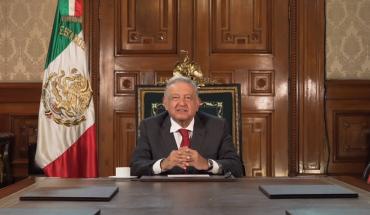 AMLO presume ante la ONU su '4T' y que pandemia en México va a la baja