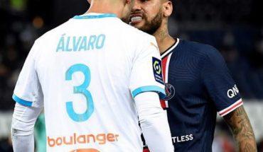 Así fue el pleito en redes entre Álvaro González del Marsella y Neymar