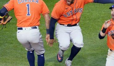 Astros de Houston vencen 4-1 a los Mellizos de Minnesota