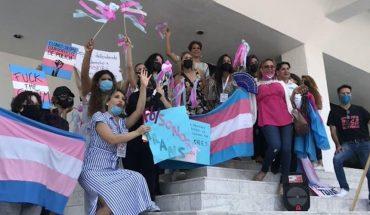 Comunidad Trans protesta en Sonora para aprobar identidad de género
