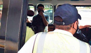 Continúan exhortando a la población a utilizar cubrebocas en el transporte público en Michoacán