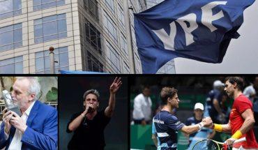 Coronavirus: 49 muertes; YPF aumentó 3,5% los precios; Diego Schwartzman enfrentará a Rafael Nadal; Premios Gardel: David Lebón se llevó el de oro y más...