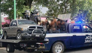 Desalojan a comuneros que mantenían tomada la presidencia de Uruapan; hay 22 aprehendidos